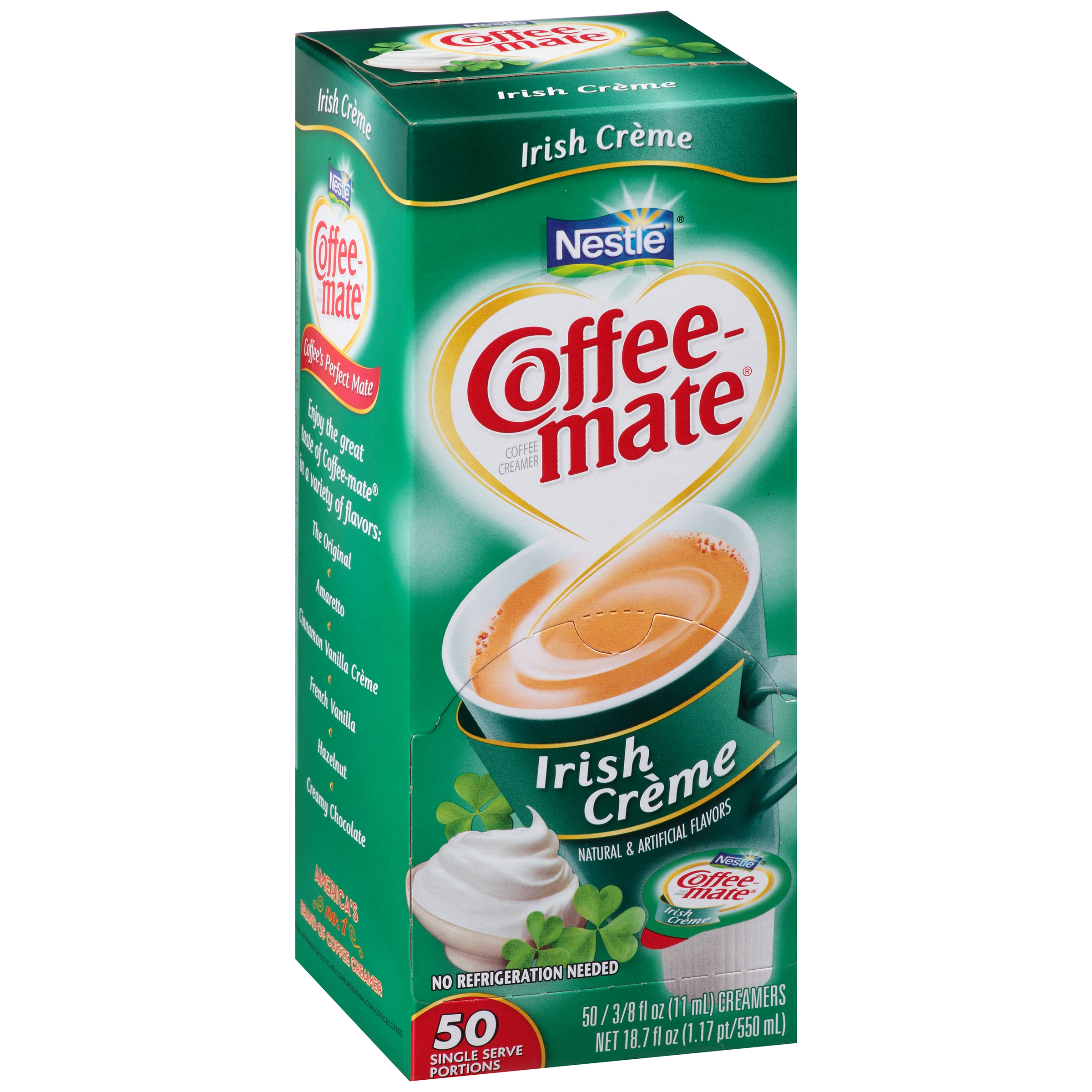 Nestl�� Coffee-mate Irish Creme Coffee Creamer 50-0.375 fl. oz. Tubs