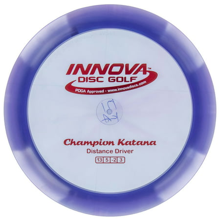 Innova Disc Golf Champion Katana Distance Driver - Extra Long Disc Golf Driver