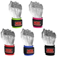 30e6176cce8a Product Image MRX Weight Lifting Wrist Wraps for Wrist Support Crossfit Lifting  Straps Gym Bodybuilding Training Workout for