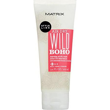 Matrix Style Link Air Dry WILD BOHO Texturizing Cream 3.4 Ounces