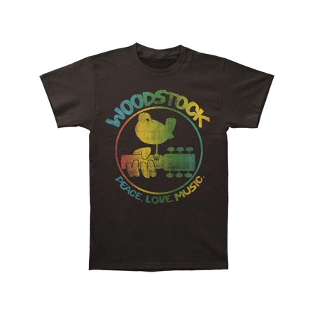 Woodstock Men's  Colorful Logo Slim Fit T-shirt Coal - Woodstock Outfits