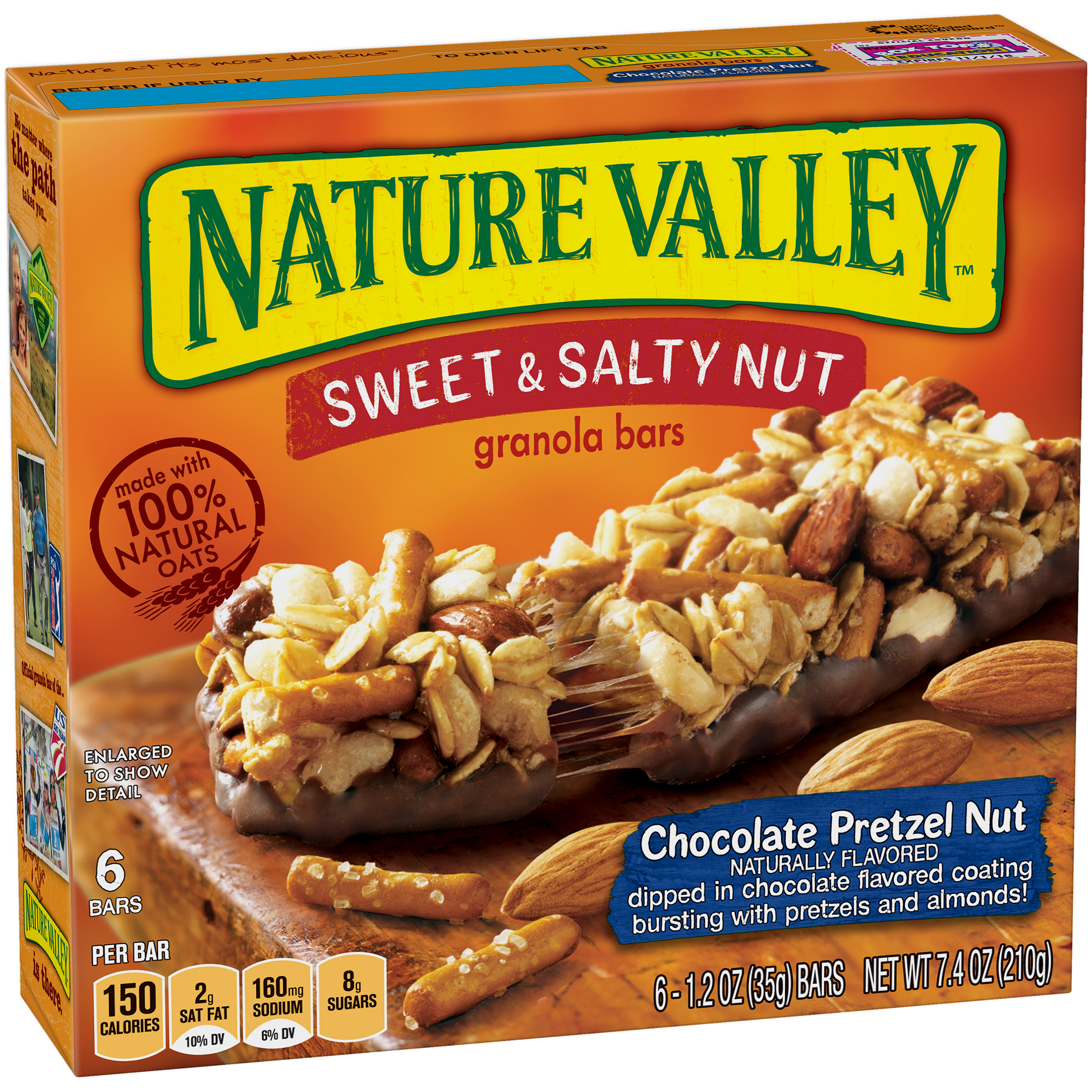 Nature Valley��� Chocolate Pretzel Nut Sweet & Salty Nut Granola Bars 6 ct Box