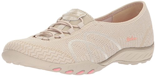 Skechers Sport Women's Breathe Easy Sweet Jam Sneaker,Natural,7 M US