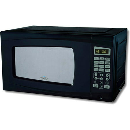 Rival 0 7 Cu Ft Digital Microwave Oven
