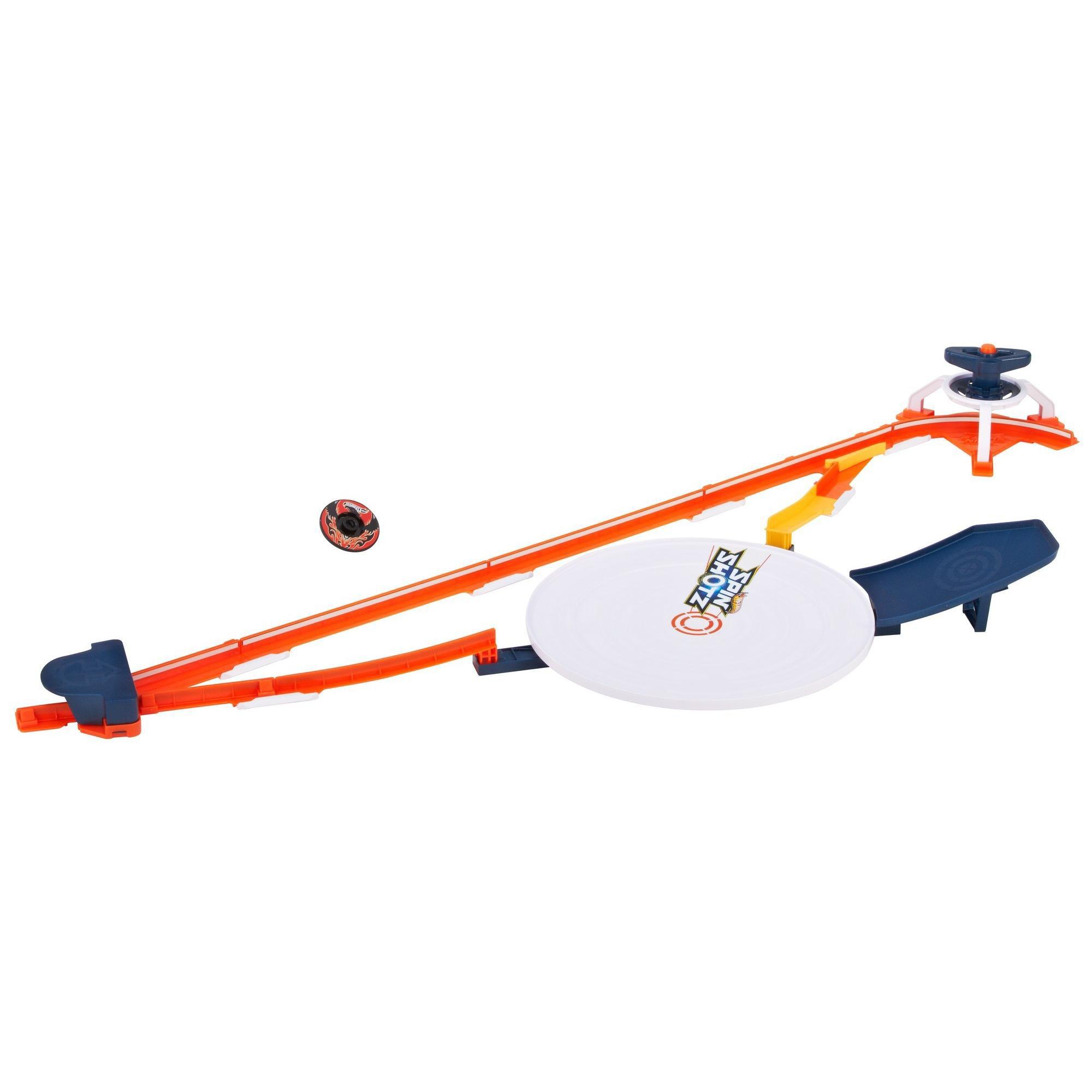 Hot Wheels Spinshotz Hyper Speed Showdown Play Set