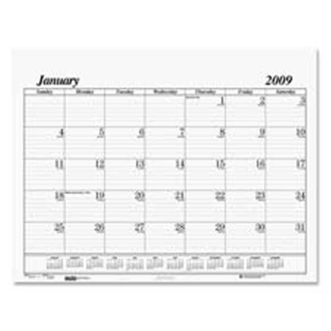 House of Doolittle HOD126 Desk Pad Refill- for 124- 12 Month- Jan-Dec- 22inchx17inch the product will be for the current