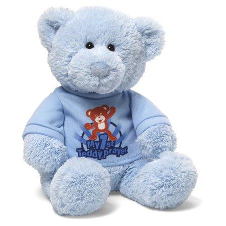10' Gund Teddy Bear - My 1st Teddy Prayer Blue Bear 12