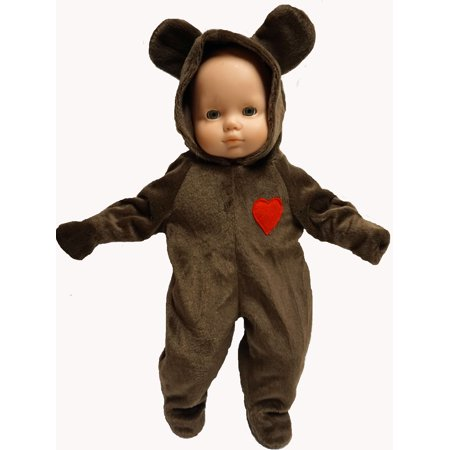 Baby Doll Clothes Halloween Bear Costume - Halloween Superstore Coupons