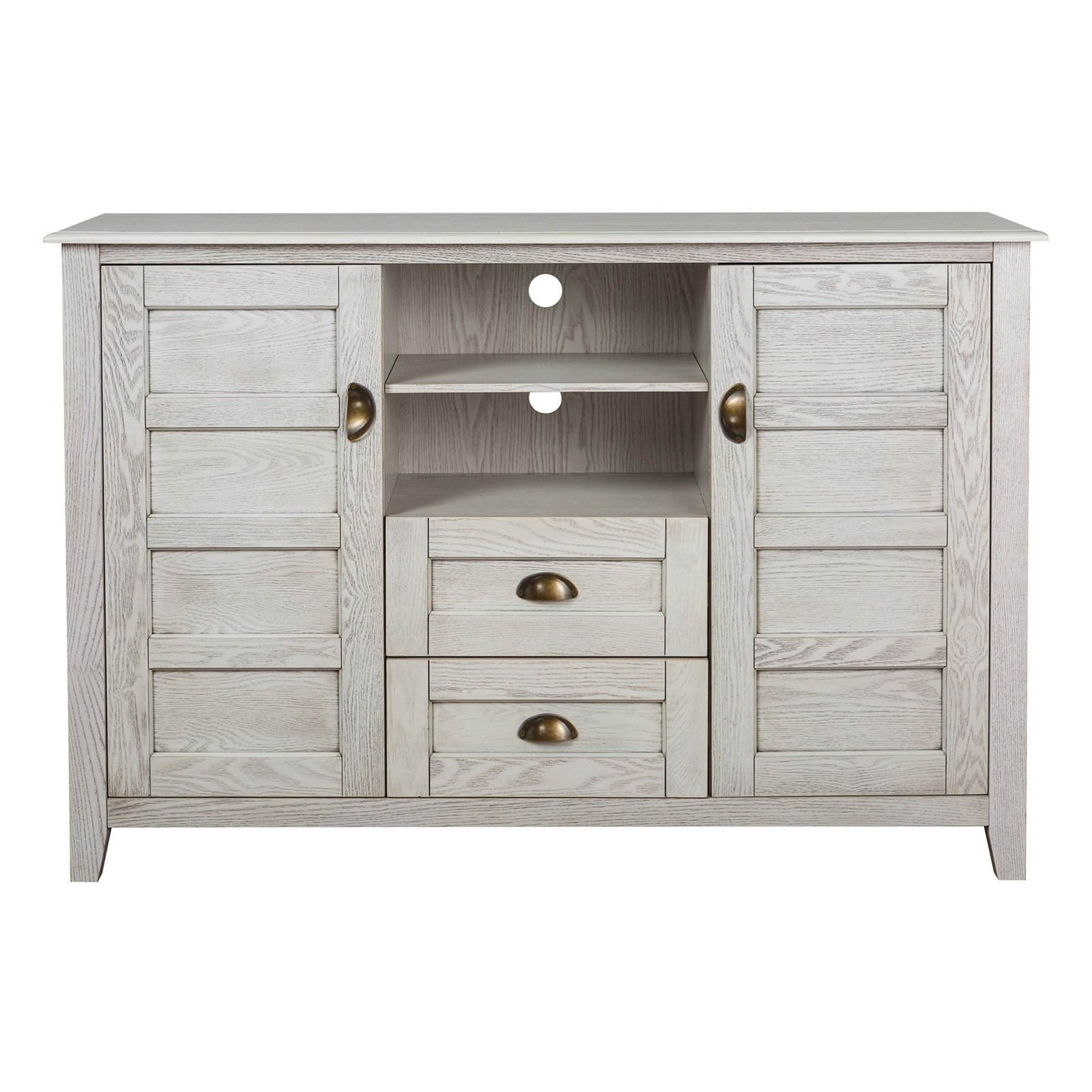 Walker Edison angelo:Home Rustic Chic TV Console