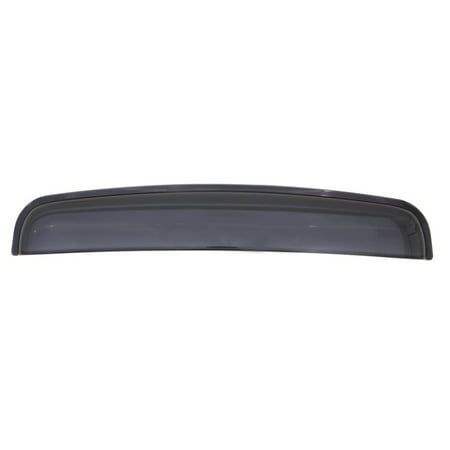 AVS Universal Windflector Classic Sunroof Wind Deflector (Fits Up To 34.25in.) - Smoke