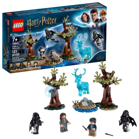 LEGO Harry Potter Expecto Patronum 75945 Forbidden Forest Play Set (121 (Lego Harry Potter Years 5 7 Map)