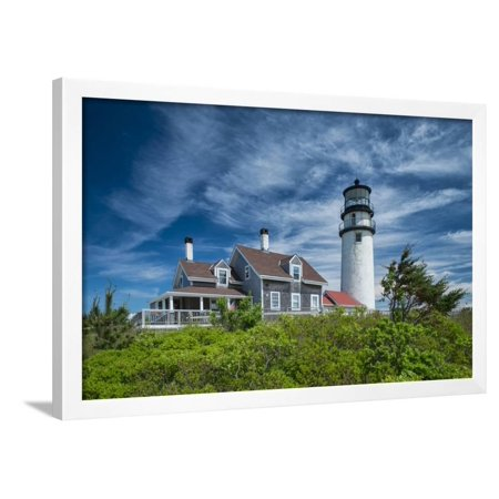 Spring at Cape Cod Light Framed Print Wall Art By Michael Blanchette Photography