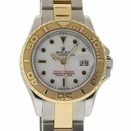Rolex Yacht-master 169623 Steel Women Watch (Certified Authentic & Warranty)