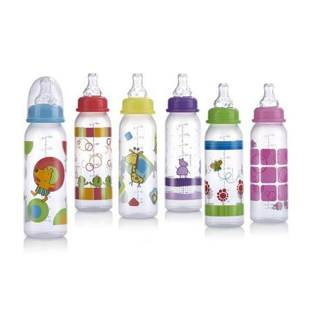Bulk Buys 8 Oz  Non Drip   Nuby Baby Bottle   Case Of 60