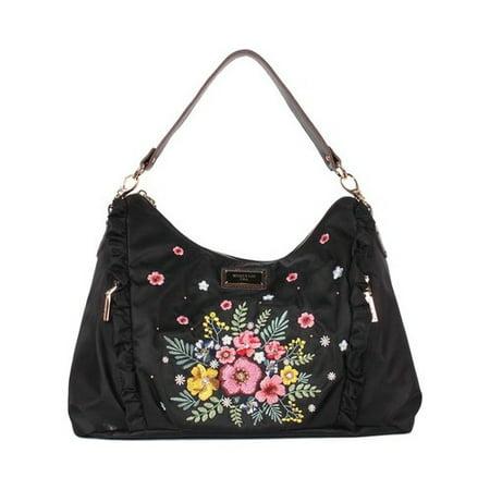 Women's Nicole Lee Adira Embroidery Garden Handbag  15