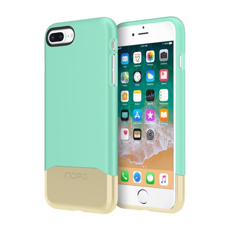 sports shoes 5b0ee d9dbd Incipio Edge Chrome iPhone 8 Plus Case with Soft Touch Shell and Chrome  Bottom Piece for iPhone 8 Plus -