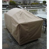 """Covered Living BBQ Island Grill Covers up to 100"""""""