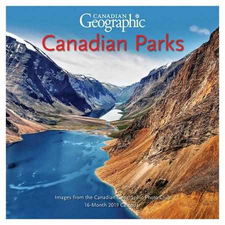 2019 Canadian National Parks Mini Wall Calendar,  by Wyman Publishing (National Parks Portfolio)