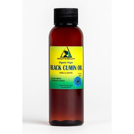 BLACK CUMIN SEED OIL UNREFINED ORGANIC VIRGIN RAW COLD PRESSED FRESH PURE 2