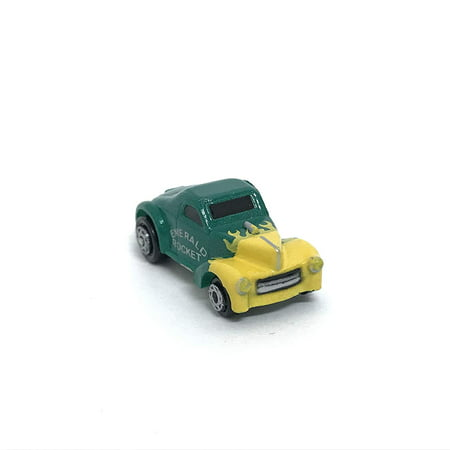 Micro Machines Vehicle Car Green 41 Willys Coupe Emerald Rocket - Pkg Emerald Green