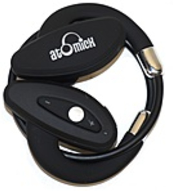 iDeaUSA HPS001 ACTIVE RUNNER Headset with a MIC - Wireless - Bluetooth - Behind-the-ear - Black