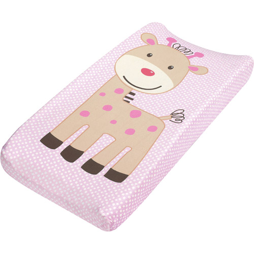 Summer Infant - Plush Pals Changing Pad Cover, Giraffe