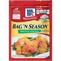 (2 Pack) McCormick Bag 'n Season Original Chicken Cooking & Seasoning Mix, 1.25 oz