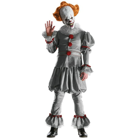Grand Heritage Mens Pennywise Costume - The Joker Grand Heritage Costume