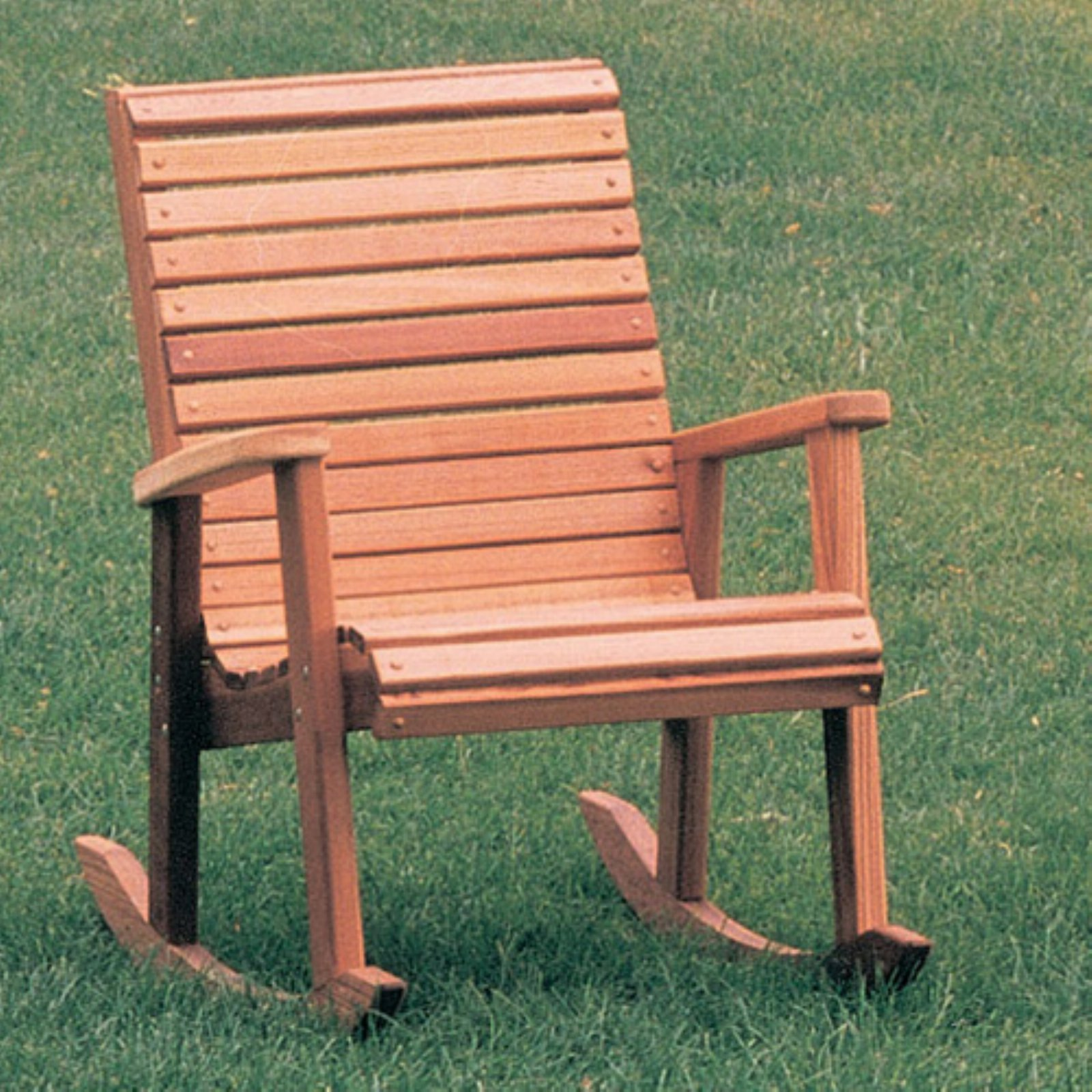 Wood Country Cedar Deck Rocker