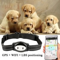 Yosoo Real Time Pet GPS Collar Tracker Locator & Activity Monitor Tracking Device for Dogs and Cats , Real Time Pet Locator, Real Time Pet Tracker