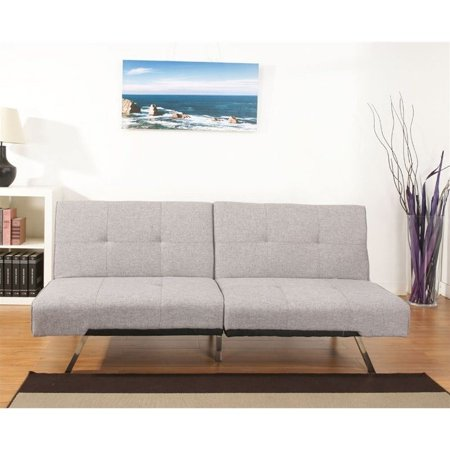 Gold Sparrow Jacksonville Fabric Convertible Sofa In Ash
