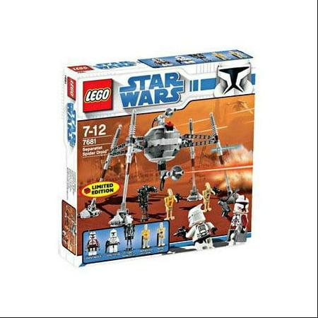 - Star Wars The Clone Wars Separatist Spider Droid Set LEGO 7681
