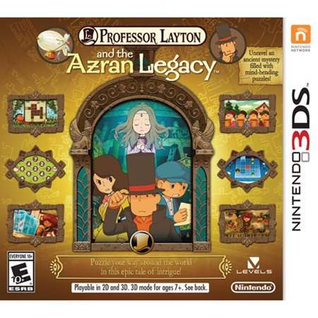 Professor Layton and the Azran Legacy, Nintendo, Nintendo 3DS, [Digital Download], (Professor Layton And The Azran Legacy Collection)