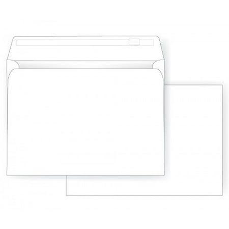 9 X 12 Booklet Envelope - Self Seal - 28# White - Open End (9 x 12) - Jumbo Envelope Series (Box of 500) Booklet Grip Seal Envelope