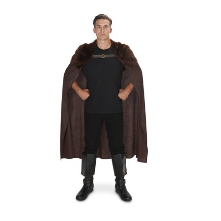 Brown Fur Huntsman Adult Cape Halloween Accessory
