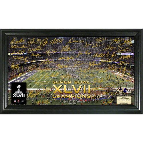 NFL - Baltimore Ravens Super Bowl XLVII Champions Celebration Signature Gridiron