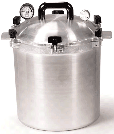 All American 25 Qt. Pressure Cooker Canner by