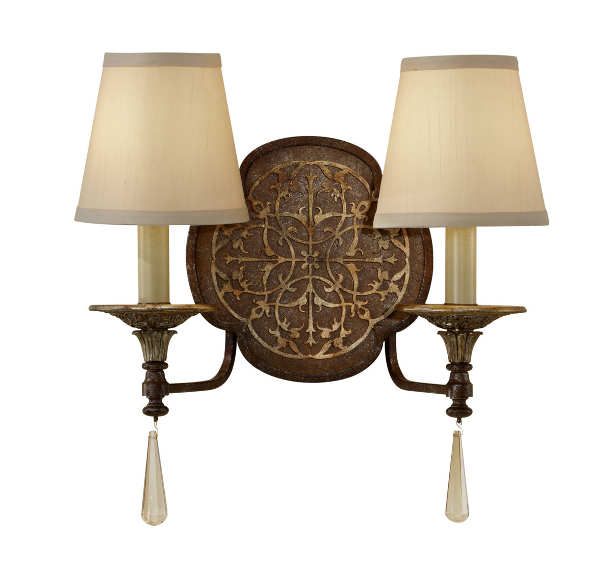 Marcella At Town Center: Feiss Marcella WB1530BRB / OBZ Wall Sconce