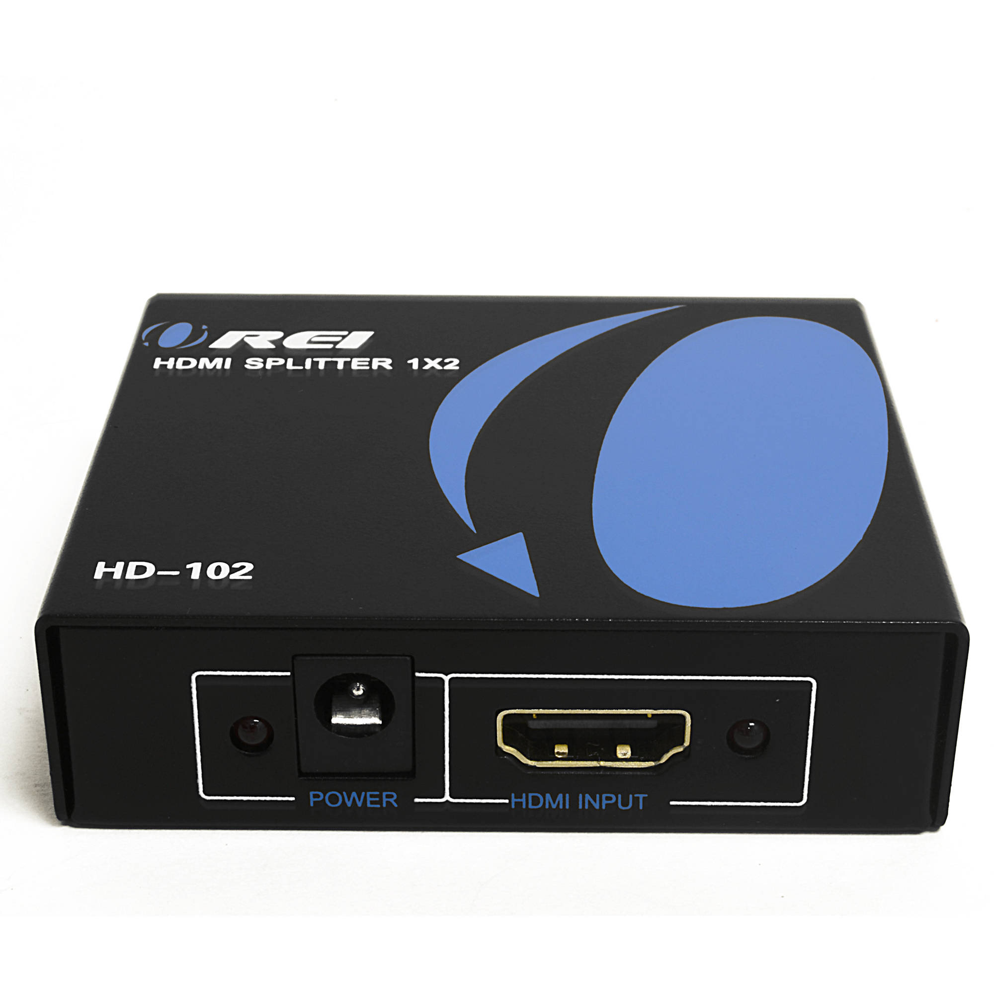 OREI HD-102 1x2 1 Port HDMI Powered Splitter Ver 1.3 Certified for Full HD 1080P and 3D Support (1 Input To 2 Outputs)