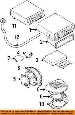 mopar electronics walmart Pace CB Radios dodge chrysler oem 2000 avenger stereo audio radio speaker mr141385