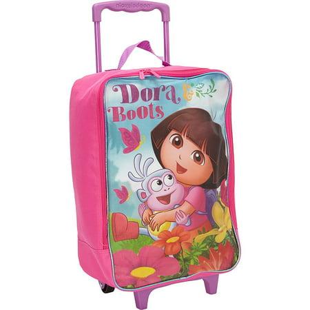 Nickelodeon Dora the Explorer Suitcase Rolling Luggage Large Pilot
