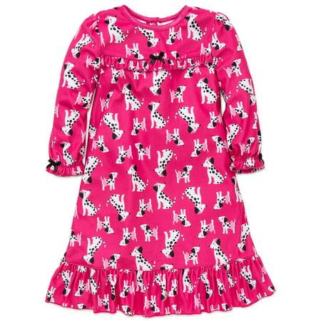 9358d3083 Little Me - Little Me Little Girls Dalmatian Puppy Long Sleeve ...