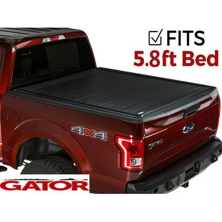 Silverado Bed Cover >> Gator Recoil Retractable Tonneau Truck Bed Cover 2014 2018 Chevy Silverado Gmc Sierra 5 8 Ft Bed