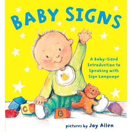 Baby Signs A Baby Sized Introduction to (Board Book) - Great Halloween Books For Toddlers