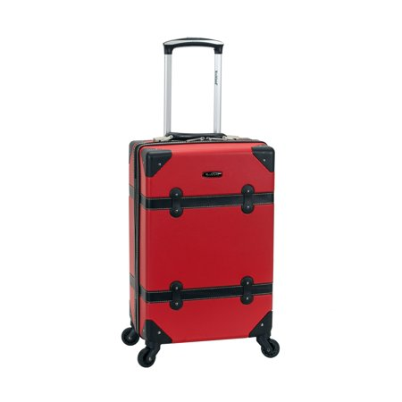 Rockland Luggage Stage Coach Hardside Rolling Trunk, F2291 ()