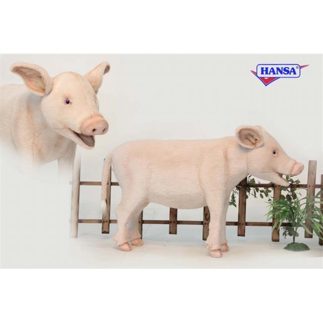 Hansa 6337 PIG STOOL 37 inch L x 23 inch H