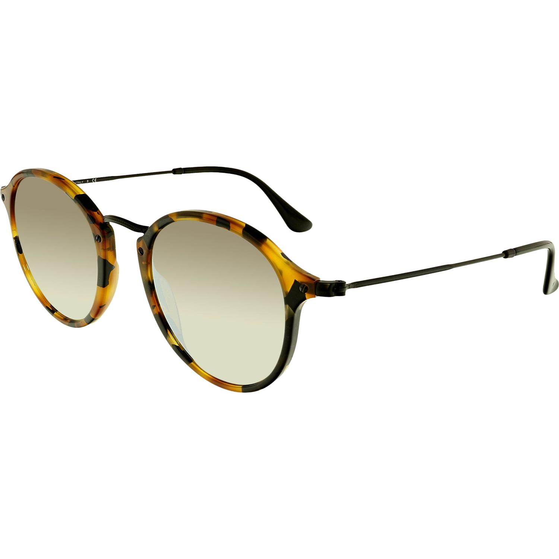 34b25548a2 ... czech ray ban mirrored round fleck rb2447 11579u 49 brown round  sunglasses 07f20 d8a6a