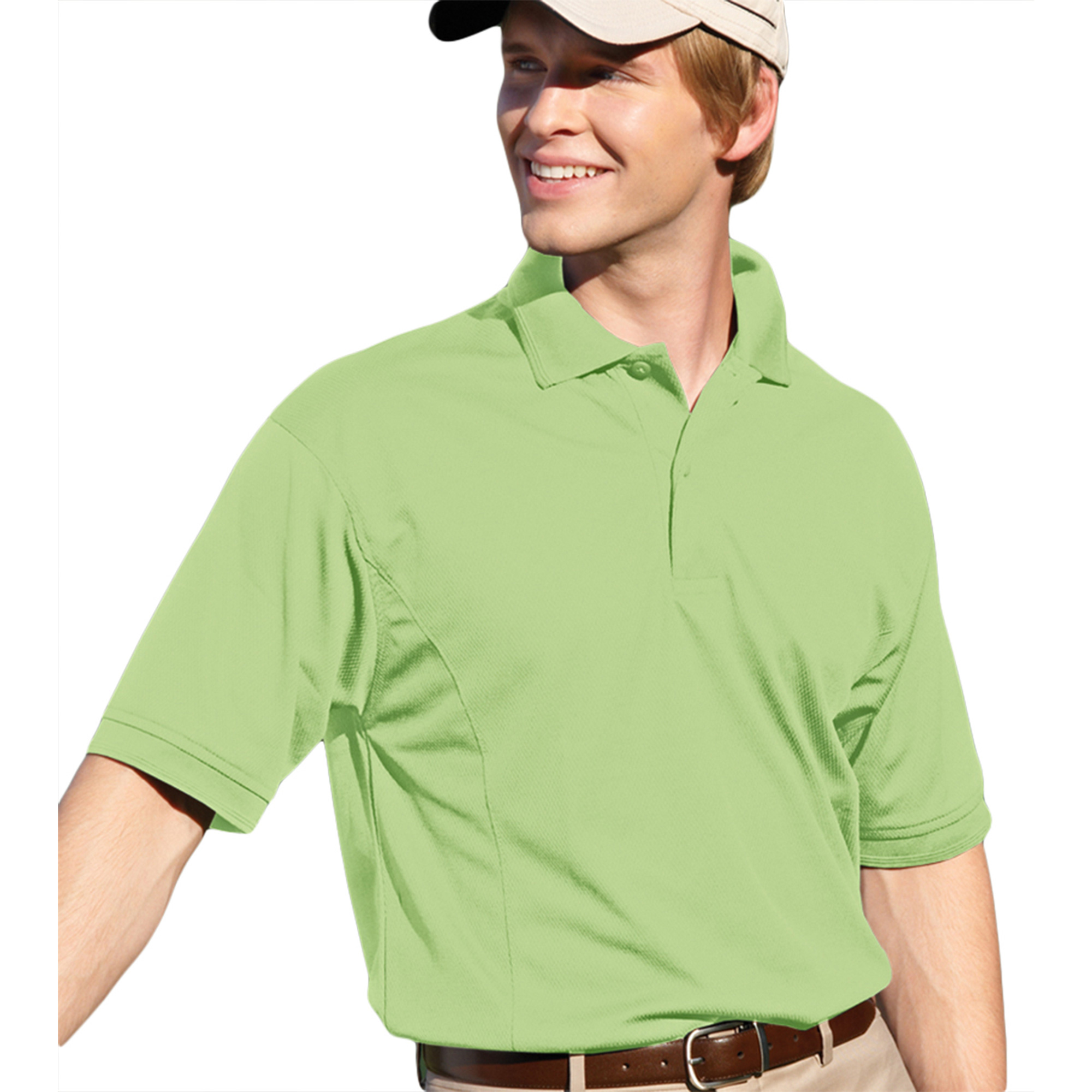 00820599180705 MENS PERFORMANCE GOLF SHIRT 2800 APPLE XL