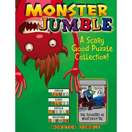 Monster Jumble® : A Scary Good Puzzle Collection!