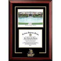 "University of Central Florida 8.5"" x 11"" Spirit Graduate Diploma Frame with Campus Images Lithograph"